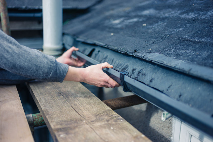 Examining Gutters as Part of a Roof Inspection